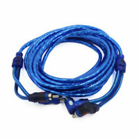 4.5meters RCA Right Angle Male to Straight Male Adapter Audio Cable