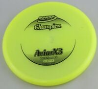 NEW Champion Aviarx3 175g Putter Yellow Innova Disc Golf Celestial Discs