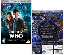DR WHO 2010 Series 5 - Doctor Matt SMITH, Amy Pond + Rory Season - NEW  DVD UK