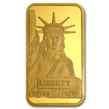 20 gram Gold Bar - Credit Suisse Statue of Liberty - SKU #46777