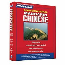 PIMSLEUR Learn/Speak CHINESE MANDARIN Language 8 CDs
