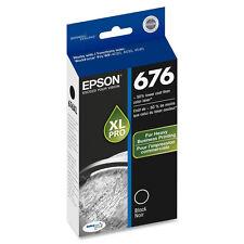 Genuine Epson 676 XL T676XL120 black ink for WP4520 WP4530 WP4533 WP4540 WP4590