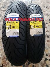 Coppia 110/70 R16 52P e 140/70 R16 65P Michelin City Grip Beverly 125/200/250