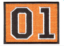 Vintage Style Dukes of Hazzard General Lee 01 Patch Badge 8cm