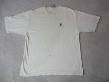 VINTAGE Tommy Hilfiger Shirt Adult 2XL XXL White Blue Crest Distressed Men 90s *