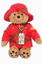 Paddington Bear Mountie Plush, New