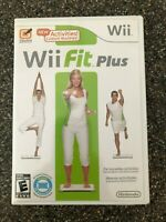 Wii Fit Plus (Nintendo Wii 2009) - Clean & Tested Working - Free Shipping