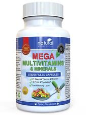 MEGA MULTIVITAMIN Multi-Vitamins & Minerals Supplement - Everything You Need