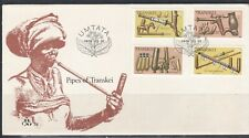 Transkei 1978 Carved Pipes Set on FDC