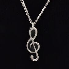1Pc Musical Note Urn Cremation Pendant Necklace Ash Holder Keepsake Jewelry Mini