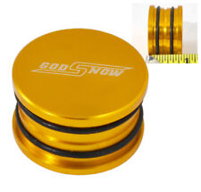 B16 B18 B20 Gsr Type-R Si Engine O-Ring Cam Shaft Seal Cap Plug Aluminum Gold