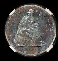 1871 $1 Liberty Seated Dollar NGC Certification 2737944-004 Proof-Like @2054