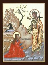 Postcard St. Mary Magdalene Devotional Print Prayer Card Icon MINT