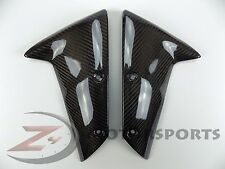 2005-2008 ZX6R ZX-6R Front Tire Mud Fender Side Panel Fairing Cowl Carbon Fiber