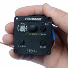 Fishman ISYS T EQ Tone Phase Switch W/Sonicore Pickup Battery Box Output Jack