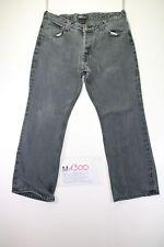 Lee Roscoe cod. M1300 Gr. 50 W36 L30 Jeans schwarz hohe Taille gebraucht vintage