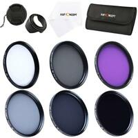 K&F Concept Slim 77mm  UV CPL FLD ND2 ND4 ND8 Lens Filter Kit Accessory fr Canon