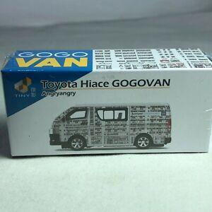 1/64 TINY Hong Kong CAR -Toyota Hiace Van Go Go Van Angryangry ATC64609