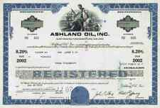 Ashland Oil Inc. 1977 Covington Kentucky Valvoline Barendrecht Niederlande 2002