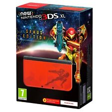 New Nintendo 3DS XL Samus Limited Edition Console Brand-New