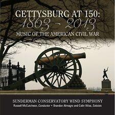 Gettysburg At 150-Music Of The American Civil War - Stamp/Dawso (2013, CD NIEUW)
