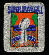 SUPER BOWL 11  RAIDERS / VIKINGS Willabee & Ward OFFICIAL NFL SB XI ~ PATCH ONLY