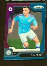 2019-20 Prizm Premier League Phil Foden Refractor Multi Color Manchester City