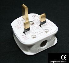 Mains AC Plug Socket 3 Pin Standard UK Fused 13A Household Power Plugs CE
