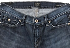 womens COH CITIZENS OF HUMANITY boot cut stretch flap pocket denim jeans sz 27