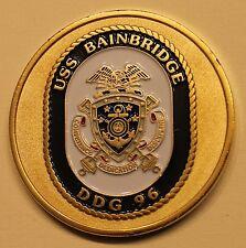 USS Bainbridge (DDG-96) Bath Maine Navy Challenge Coin