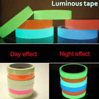 Glow In The Dark Self-adhesive Safety Sticker Tape Luminous Fluorescent Night