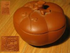NICE CHINESE 8.9cm YIXING ZISHA FAMOUS SCHOLAR CARVED SMOOTH TEAPOT