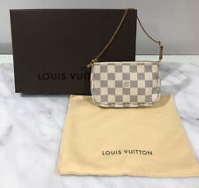Louis Vuitton LV Mini Pochette Accessoires Damier Azur Canvas SOLD OUT