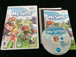 MySims (Nintendo Wii) - COMPLETE WITH MANUAL
