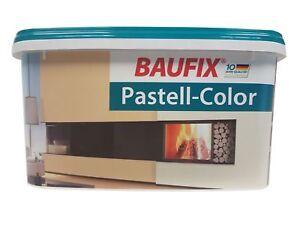 BAUFIX Pastell Color Wand & Decken Farbe 5 L Matt Farbwahl