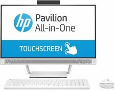 HP 24-a270na Touchscreen All-in-One PC - i7-7700T 8GB DDR4 1TB HDD + 128GB SSD