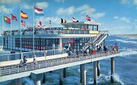 Alte Postkarte - Scheveningen - Pier