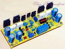 DIY class AB 2-channel 200W power amplifier board kit on Symasym5-3 power amp