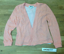 DKNY Girls' Shell Pink Cardigan, Size 3 T, MSRP $42