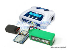 LiPo LiFe Battery Balance Charger 1S-6S Charge Multiple Packs at Once, Dual Port