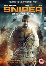 Sniper Special Ops (DVD) (NEW AND SEALED) (STEVEN SEAGAL) (REGION 2) (FREE POST)