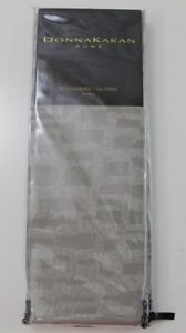 Donna Karan Home Fuse Silver Std/Queen Sham One $165