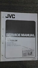 JVC rc-s2r jw service manual book cassette deck tape player 3 band radio am fm