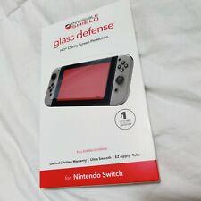 Zagg Invisible Shield Tempered Glass Defense HD Screen Protector Nintendo Switch