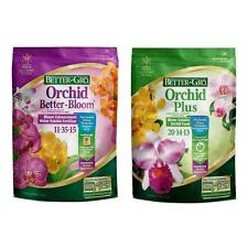 2 lb. Orchid Plant Food Water Soluble Flower Fertilizer Better-Bloom Combo Pack