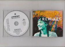 CD  -  Marusha  - over the rainbow  - remixes