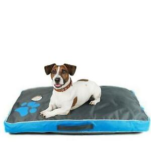 Dog Bed Waterproof Crate Cushion Car Medium Blue Pet Cushion