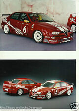 Alfa Romeo 156 Touring Car  Group N Photograph x 2 Mint Condition