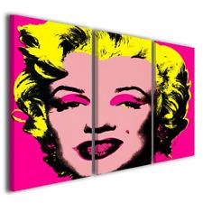 Quadri pop art Marilyn Monroe pop art arredo casa stampa tela canvas ® quality