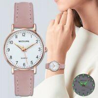 Fashion Women Roman Watch Lady Leather Band Analog Quartz Ladies Wrist Watches